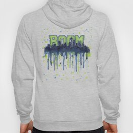 Seattle Boom Watercolor Hoody