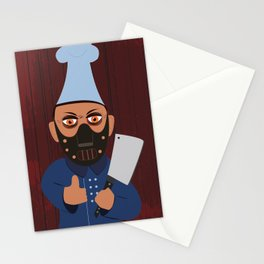 Chef Hannibal Stationery Cards