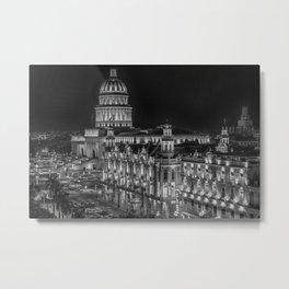 The Capitol, Havana Metal Print