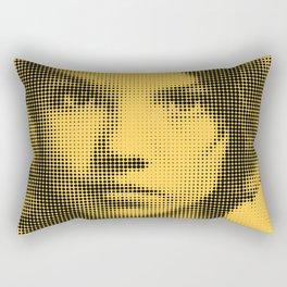 Face of raster Rectangular Pillow