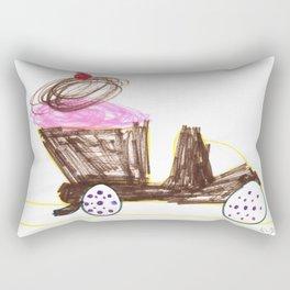 Ice Cream Sundae Dump Truck Rectangular Pillow