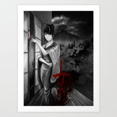 Kunoichi 2 of 4 Art Print