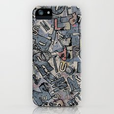 Words iPhone (5, 5s) Slim Case