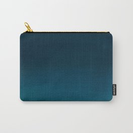 Navy blue teal hand painted watercolor paint ombre Tasche