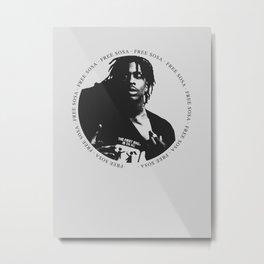 Free Sosa Metal Print