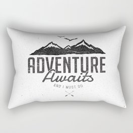 ADVENTURE AWAITS Rectangular Pillow