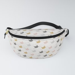 Cool cat heads Fanny Pack