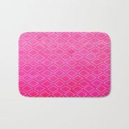Pretty in Hot Pink Diamond Impressions Hom Decor Badematte