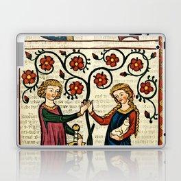 Codex Manesse: Bernger von Horheim Laptop & iPad Skin