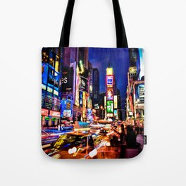 Times scuare Tote Bag
