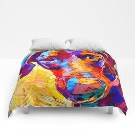 Doberman 4 Comforters