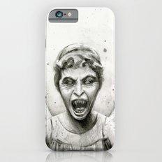 Weeping Angel Watercolor Doctor Who Art Slim Case iPhone 6
