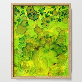 Green Dream Serving Tray