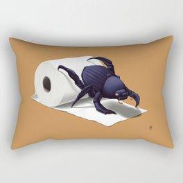 Shit Happens! (Colour) Rectangular Pillow