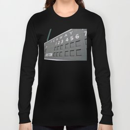 Fenwall -- Boston Fenway Park Wall, Green Monster, Red Sox Long Sleeve T-shirt