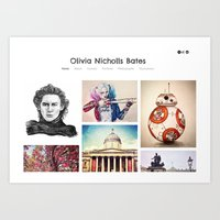 Check out my new site! Art Print