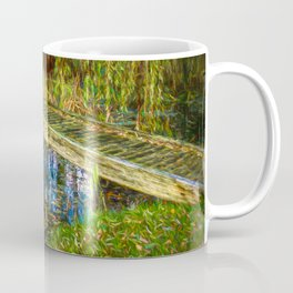 Bridge over calm water by Brian Vegas Coffee Mug