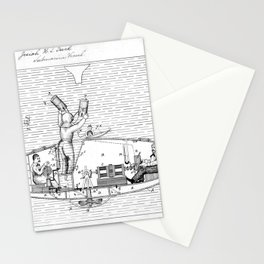 Submarine Patent 1884 Stationery Cards