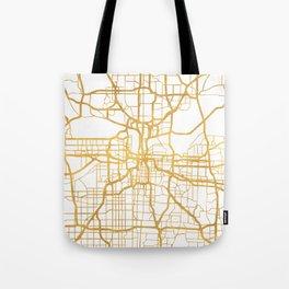 KANSAS CITY MISSOURI CITY STREET MAP ART Tote Bag