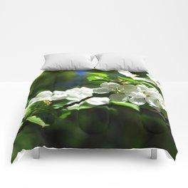 Apple blossom Comforters