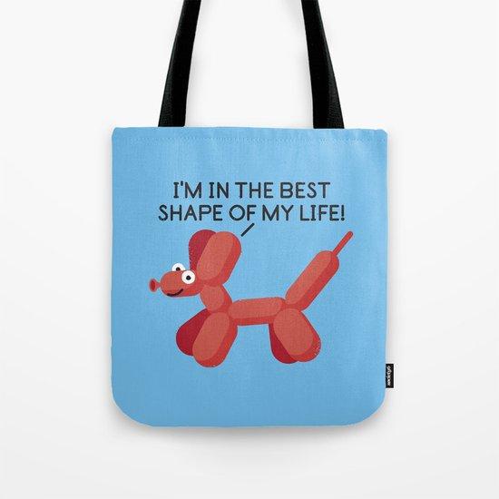 Inflated Ego Tote Bag