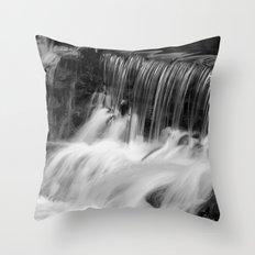 Waterfalls Throw Pillow