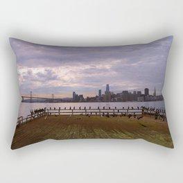 San Francisco - From The Dock Rectangular Pillow