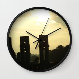 Sunset Memorial Wall Clock
