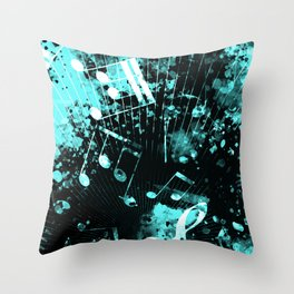 Musical Atmosphere 6 Throw Pillow