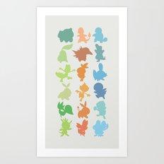 The Starters Art Print