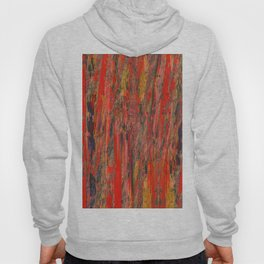 lines of red yellow Hoody