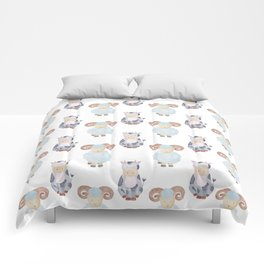 Cow and Sheep Pattern Comforters
