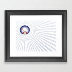 FlyFlag! Framed Art Print