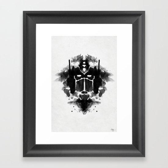 Optimust Framed Art Print