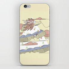 Dragon ride iPhone & iPod Skin