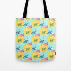 Retro Palms Tote Bag