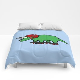 Roller Derby Triceratops Comforters