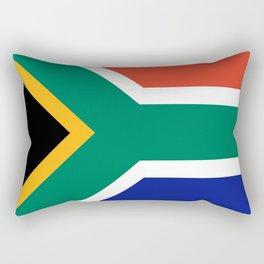 flag south africa, African,Afrikaans,Mandela,apartheid, Johannesburg,Soweto,Pretoria,Durban,Tembisa Rectangular Pillow
