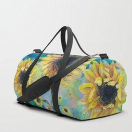 Supermassive Sunflowers Duffle Bag