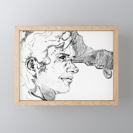 Endeavour: Unfinished Framed Mini Art Print