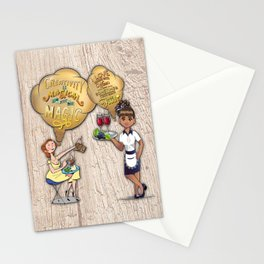 Creative Magic Break Time with Friends Stationery Cards