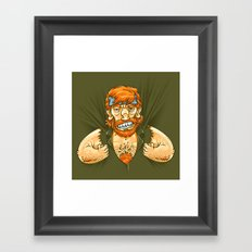 Who wears whom? Framed Art Print