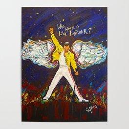 Freddie Angel Poster