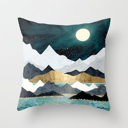 Ocean Stars Throw Pillow