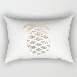 GOLD PINEAPPLE Rectangular Pillow