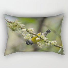 Bananaquit Rectangular Pillow