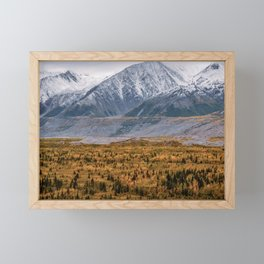 Autumn in Alaska Framed Mini Art Print