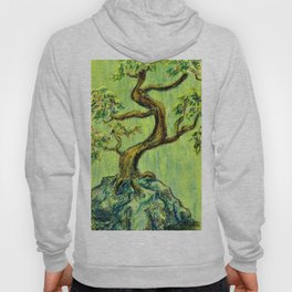 Teal Bonsai Hoody