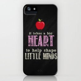 Big heart Pink iPhone Case