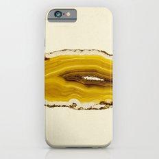 Agate - Yellow Slice iPhone 6s Slim Case